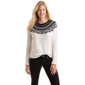 Vineyard vines fair isle sweater